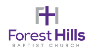 Forest Hills Baptist Church Sermons